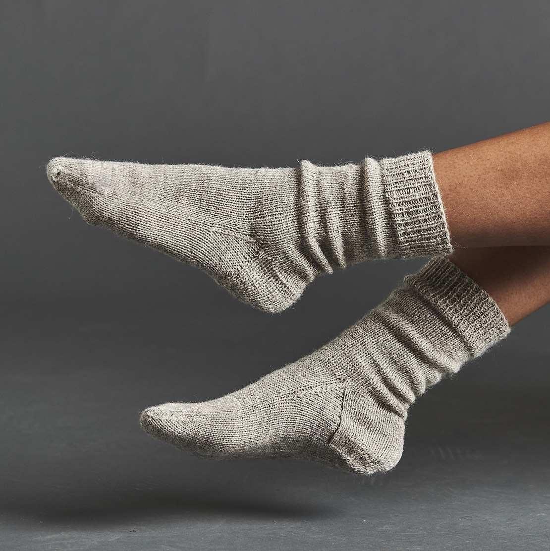 Wool Local von Erika Knight - Socken