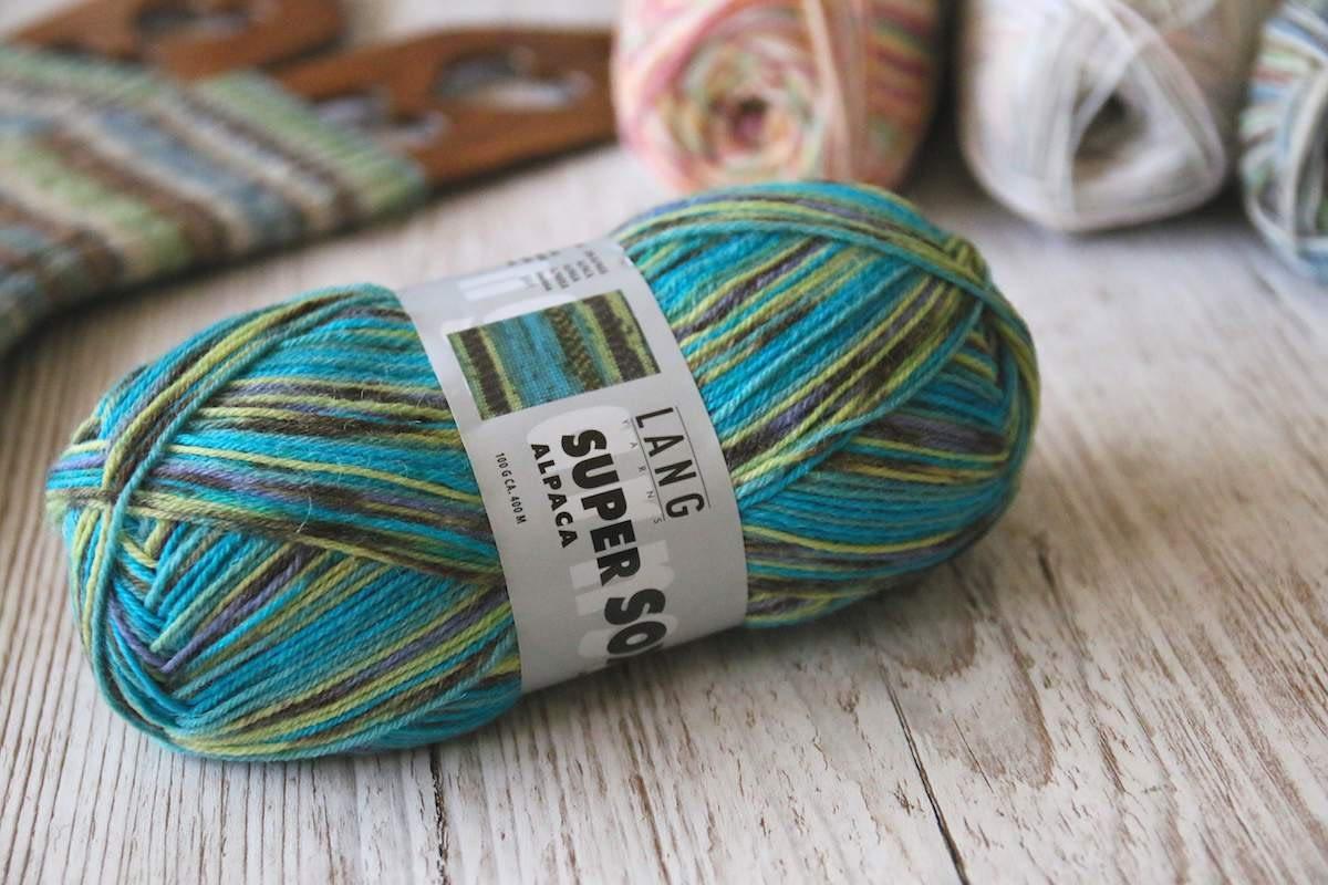 Super Soxx Alpaka von Lang Yarns Farbe 055