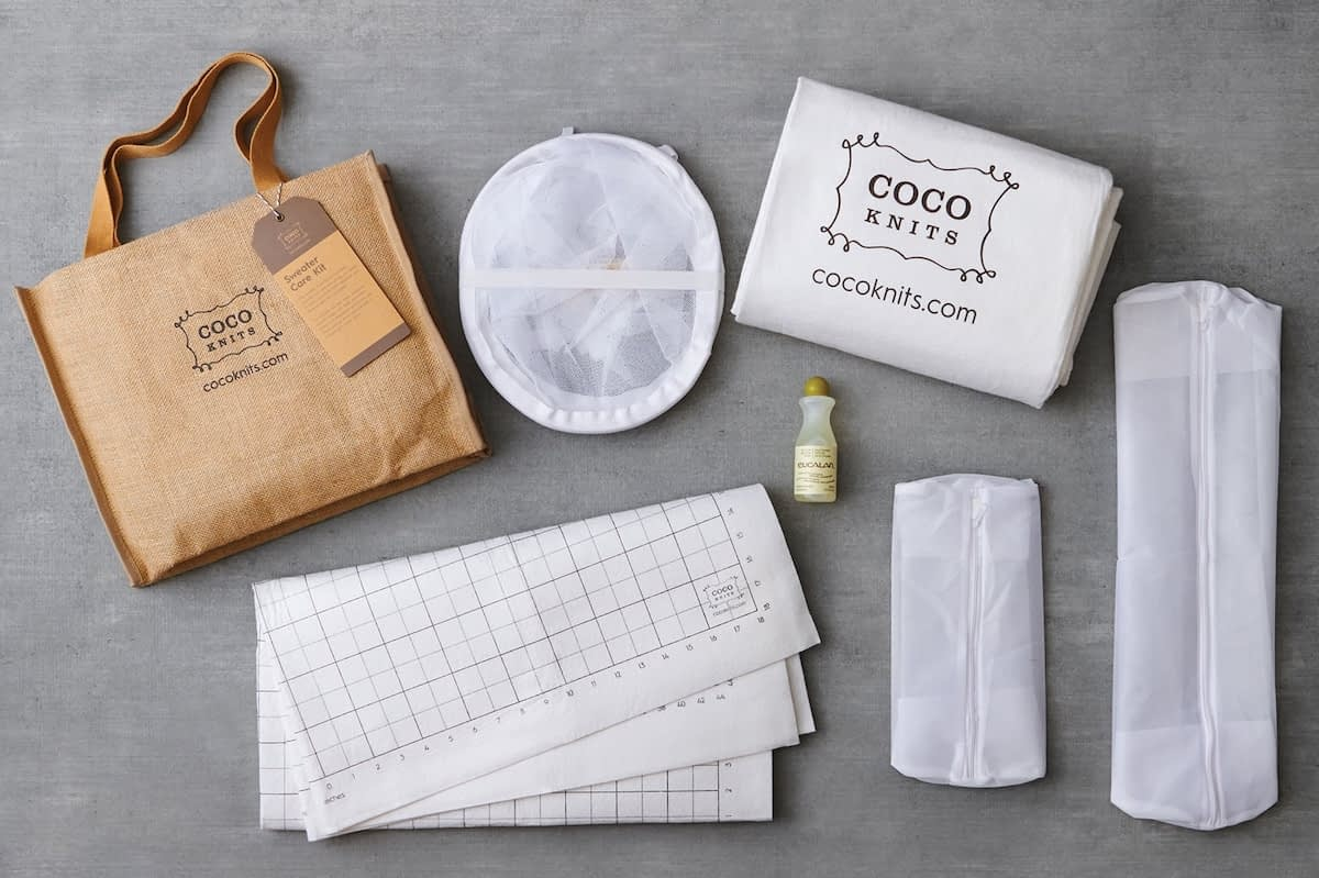 Das Cocoknits Sweater Care Kit