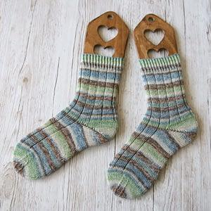 Socken stricken mit Super Soxx Alpaka von Lang Yarns
