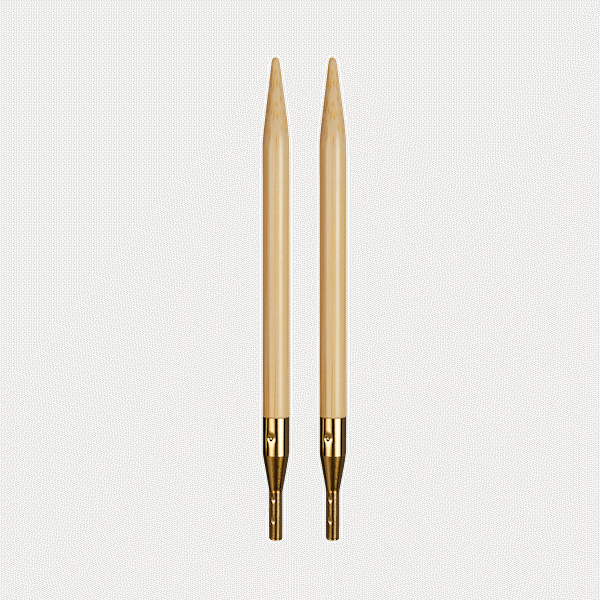 addi Click Bamboo Nadelspitzen