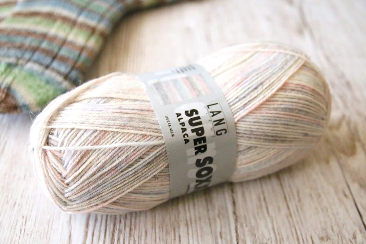 Super Soxx Alpaka von Lang Yarns Farbe 152