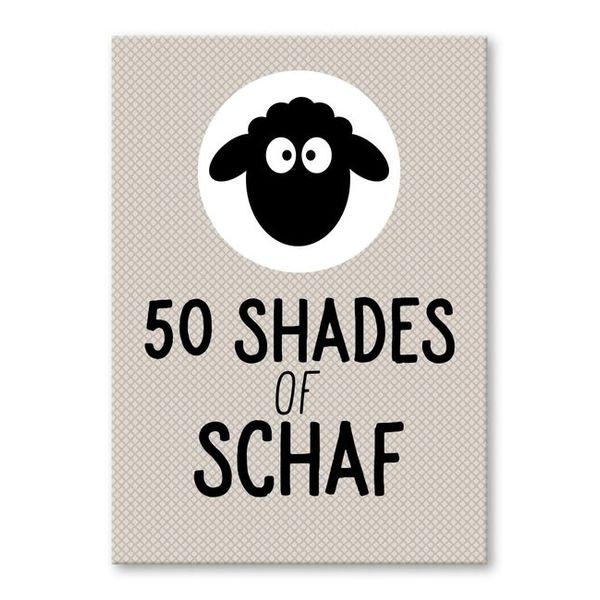 strickimicki Postkarte 50 Shades