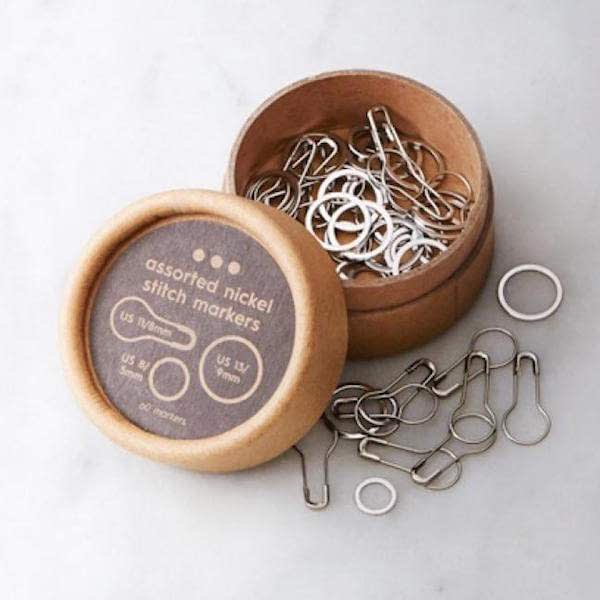 Cocoknits Stitchmarker Silber
