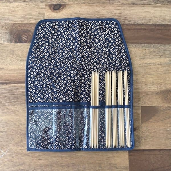 Seeknit Shirotake Nadelspiel Set 20cm Blau