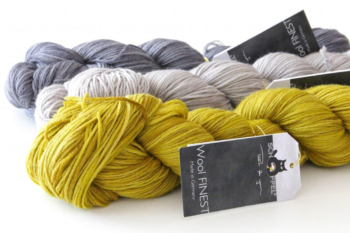 Wool Finest von Schoppel Trio