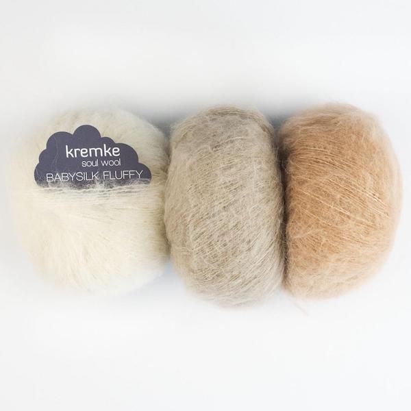 Kremke Soul Wool Fluffy Solid