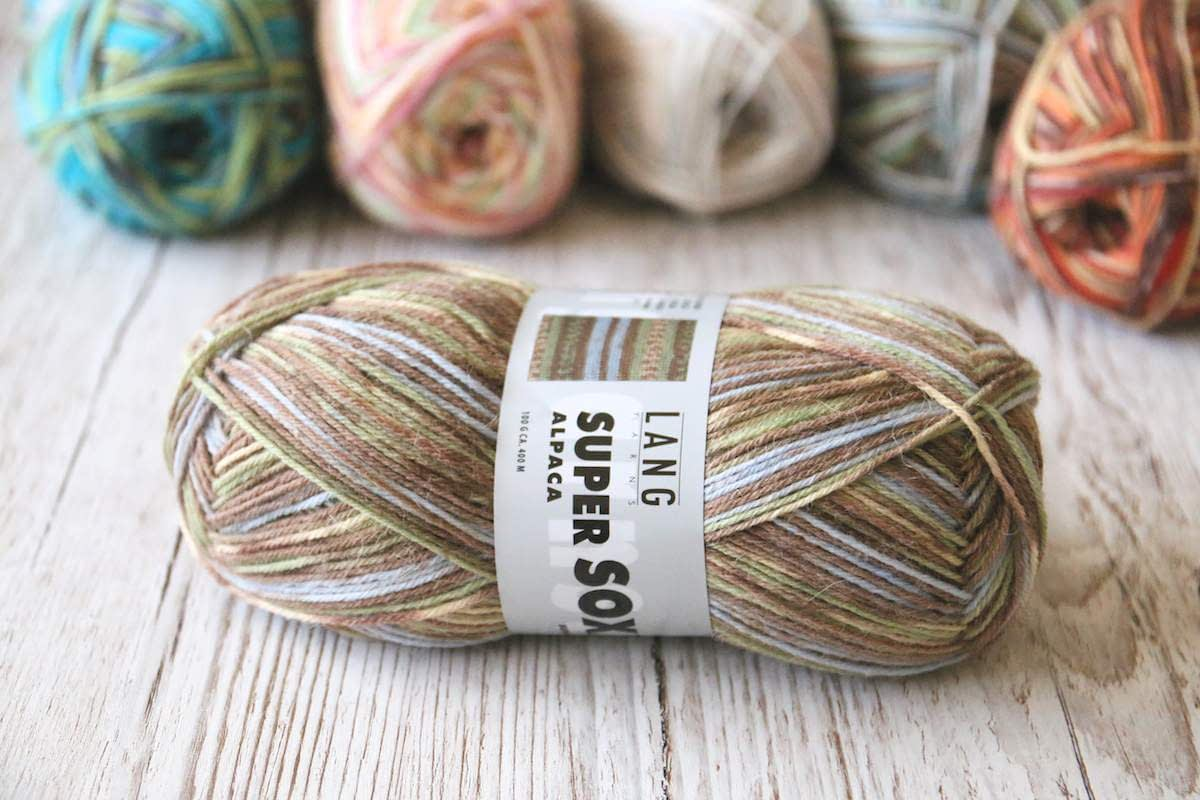 Super Soxx Alpaka von Lang Yarns Farbe 054