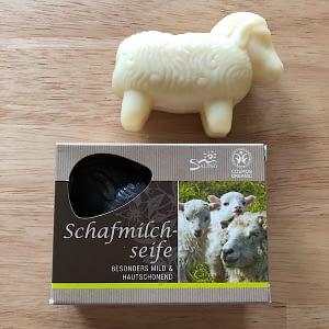Saling Schafmilch-Seife Weiß