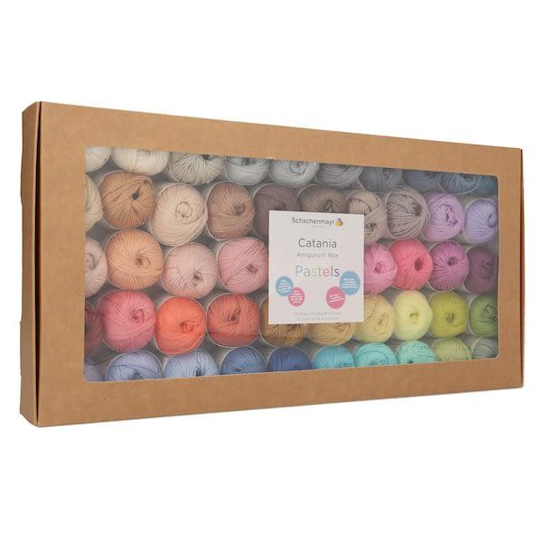 Schachenmayr Catania Box Pastellfarben